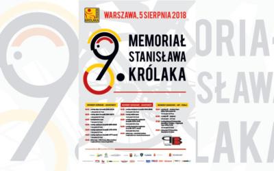 PLAKAT MEMORIAŁU KRÓLAKA 2018